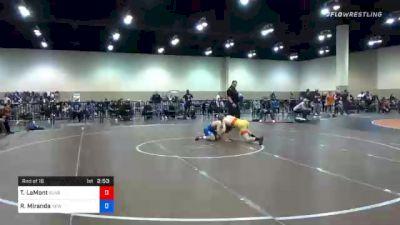61 kg Prelims - Taylor LaMont, Sunkist Kids Wrestling Club vs Randon Miranda, New York Athletic Club