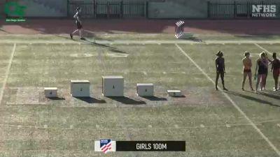 High School Girls' 800m, Finals 1