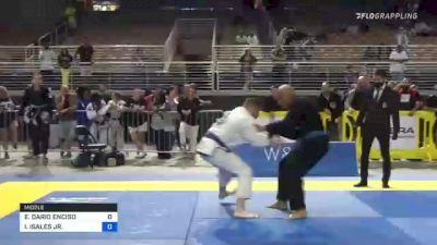 EDGAR DARIO ENCISO vs ISRAEL ISALES JR. 2021 Pan Jiu-Jitsu IBJJF Championship
