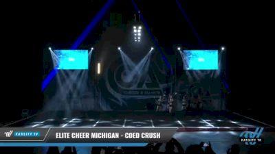 Elite Cheer Michigan - Coed Crush [2021 L6 Senior Coed Open - Small Day 2] 2021 COA: Midwest National Championship