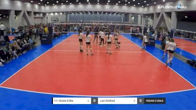Tri-State Elite vs Lex United - 2019 JVA Buckeye Battle, 16s Round 2 Gold