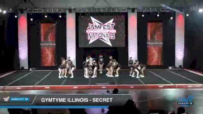 GymTyme Illinois - Secret [2021 L3 Junior - Small - B Day 2] 2021 JAMfest Cheer Super Nationals