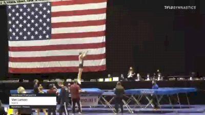 Van Larson - Individual Trampoline, Aspire - 2021 USA Gymnastics Championships