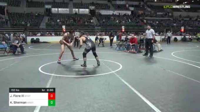 152 lbs Semifinal - John Fiore III, West Essex vs K J