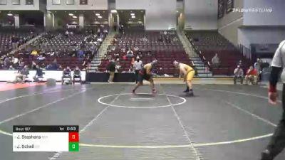 285 lbs 3rd Place - Jalen Stephens, Meyersdale vs Jordan Schell, Girard