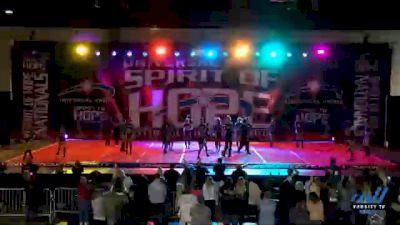 Rockstar Cheer Beatles [2021 Senior Small Coed Open 6 Day 2] 2021 Universal Spirit: Spirit of Hope National Championship