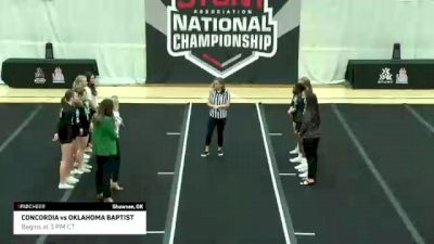 Game 7: Oklahoma Baptist University vs Concordia University