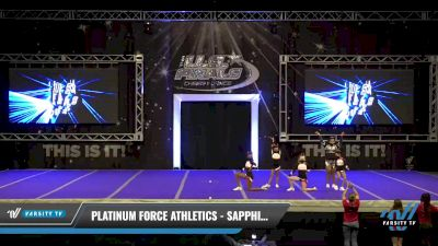 Platinum Force Athletics - Sapphires [2021 L1 Youth - Novice Day 1] 2021 The U.S. Finals: Ocean City