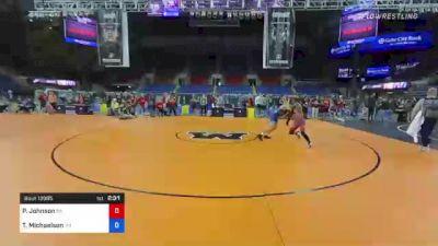 152 lbs Consolation - Paniro Johnson, Pennsylvania vs Thor Michaelson, Washington