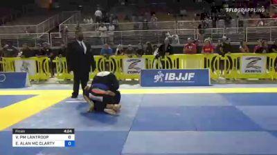 VICTOR PM LANTROOP vs EDWARD ALAN MC CLARTY 2021 Pan Jiu-Jitsu IBJJF Championship