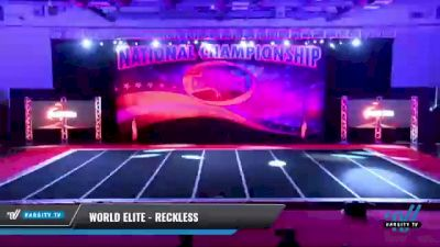 World Elite - Reckless [2021 L1 Youth Day 2] 2021 ACP: Midwest World Bid National Championship