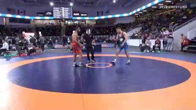 79 kg Consolation - Muhamed McBryde, New York Athletic Club vs Devin Skatzka, Gopher Wrestling Club - RTC