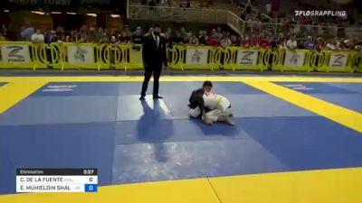 CHRISTIAN DE LA FUENTE vs EHAB MUHIELDIN SHALABY 2021 Pan Kids Jiu-Jitsu IBJJF Championship