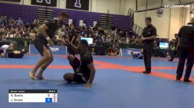 Alexandre Bueno vs Jackson Sousa 2018 Pan Jiu-Jitsu IBJJF No Gi Championship