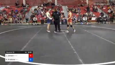 70 kg Prelims - Jaron Jensen, Wyoming Wrestling Reg Training Ctr vs Anthony Artalona, Pennsylvania RTC