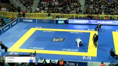 FELLIPE ANDREW vs DIMITRIUS SOUZA 2018 World IBJJF Jiu-Jitsu Championship