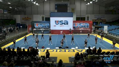 Westmont High School - Warriors Red - Evaluation [2021 Varsity Show Cheer Advanced Day 1] 2021 USA Reach the Beach Spirit Competition