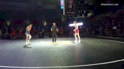 126 lbs 3rd Place - Kamdyn Williams, Pennsylvania vs Mason Gibson, Pennsylvania