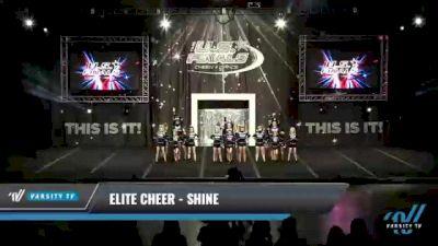 Elite Cheer - Shine [2021 L1.1 Youth - PREP Day 1] 2021 The U.S. Finals: Kansas City