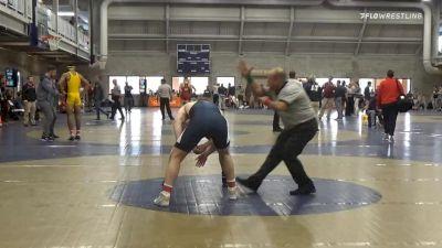 Semifinal - Michael Beard, Penn State Unattached vs Zach Ancewicz, Edinboro