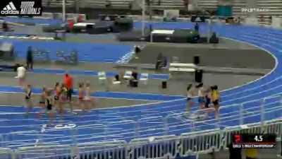 High School Girls' Mile Championship, Heat 3