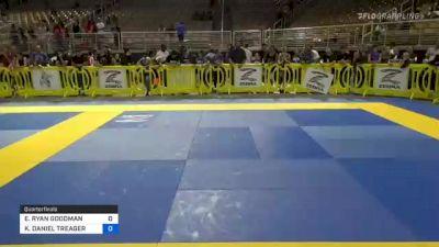 ERIC RYAN GOODMAN vs KIERYAN DANIEL TREAGER 2021 Pan Kids Jiu-Jitsu IBJJF Championship