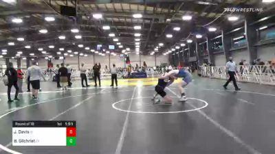 195 lbs Prelims - John Davis, ID vs Brendan Gilchrist, CT