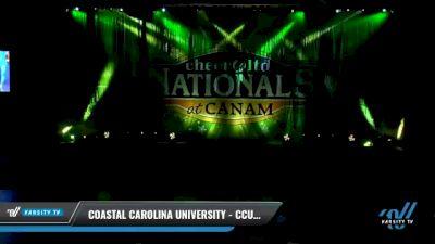 Coastal Carolina University - CCU - Saturday [2021 L7 Exhibition (Cheer) Day 1] 2021 Cheer Ltd Nationals at CANAM