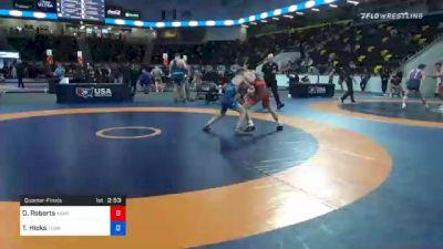 60 kg Quarterfinal - Dalton Roberts, Army (WCAP) vs Thomas Hicks, Tennessee
