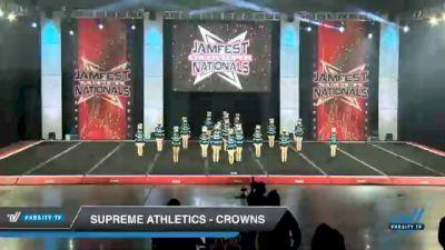 Supreme Athletics - Crowns [2021 L2.2 Mini - PREP Day 1] 2021 JAMfest Cheer Super Nationals