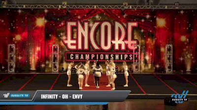 Infinity - OH - Envy [2021 L4.2 Senior - D2 Day 2] 2021 Encore Championships: Pittsburgh Area DI & DII