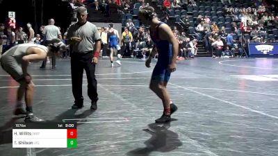 157 lbs Prelims - Hunter Willits, Oregon St. vs Tyler Shilson, Chattanooga