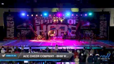 ACE Cheer Company - BHM - Warriors [2021 Senior Medium Coed 6 Day 1] 2021 Universal Spirit: Spirit of Hope National Championship