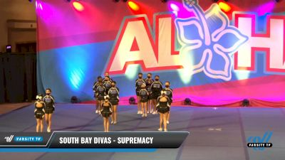 South Bay Divas - Supremacy [2021 L2 Youth - Small Day 1] 2021 Aloha DI & DII Championships
