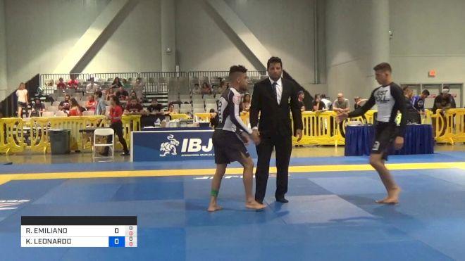RICHAR EMILIANO NOGUEIRA vs KENNEDY LEONARDO MACIEL 2019 American National IBJJF Jiu-Jitsu Championship