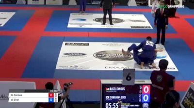 Basel Fanous vs Donghwa Choi 2018 Abu Dhabi World Professional Jiu-Jitsu Championship