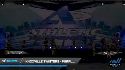 Knoxville Twisters - Purple Rain [2021 L1 Youth - D2 Day 1] 2021 Athletic Championships: Chattanooga DI & DII
