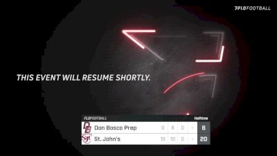 Replay: Don Bosco vs St. John - 2021 Don Bosco Prep vs St. John's | Aug 28 @ 2 PM
