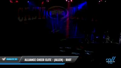 Alliance Cheer Elite - (Allen) - RIOT [2021 L3 Senior Coed - D2 Day 2] 2021 ACP Cash Bash Championship