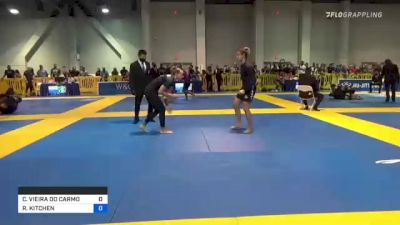 CAROLINA VIEIRA DO CARMO MASSOT vs RYLEE KITCHEN 2021 American National IBJJF Jiu-Jitsu Championship