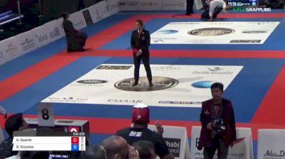 Kaynan Duarte vs Sebastian Szyszka 2018 Abu Dhabi World Professional Jiu-Jitsu Championship