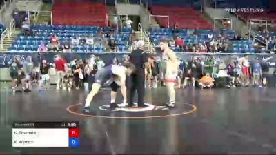195 lbs Round Of 64 - Seth Shumate, Ohio vs Kail Wynia, Minnesota