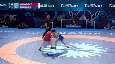 63 kg 1/2 Final - Taleh Mammadov, Azerbaijan vs Meysam Dalkhani, Iran