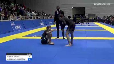 GIANNI PAUL GRIPPO vs JOSHUA MICHAEL MURDOCK 2021 World IBJJF Jiu-Jitsu No-Gi Championship