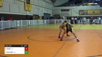 125 lbs Consi Of 8 #1 - Evan Shell, Unattached - Northeastern Junior College vs Van Schmidt, Unattached - Nebraska Kearney