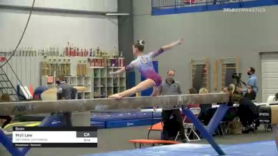 Myli Lew - Beam, San Mateo Gymnastics - 2021 American Classic and Hopes Classic