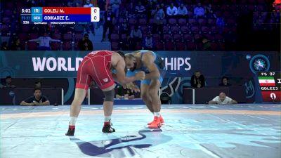 97 kg Qualif. - Mojtaba Goleij, Iran vs Elizbar Odikadze, Georgia