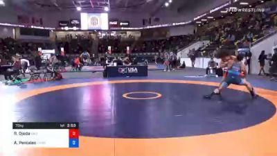 70 kg Prelims - Ryan Ojeda, California vs Alec Pantaleo, TMWC/ CKWC