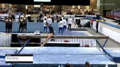 Baylie Belman - Beam, Metroplex Gymnastics - 2021 Metroplex Challenge