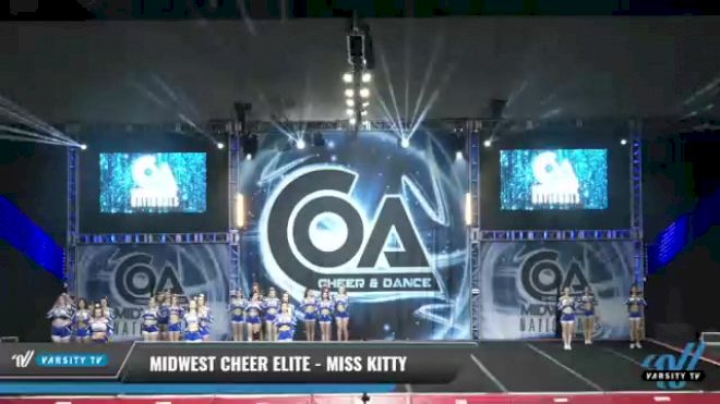 Midwest Cheer Elite - Miss Kitty [2021 L3 Senior - Medium Day 2] 2021 COA: Midwest National Championship
